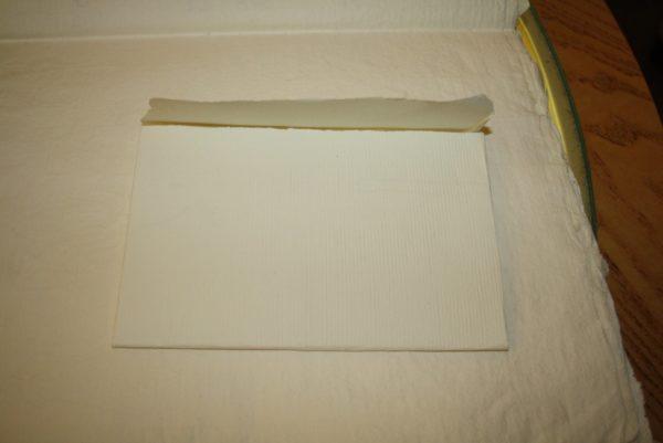 Busta Cartolina postale Carta a mano filigrana