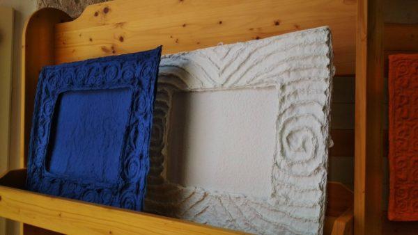 cornice carta fatta a mano