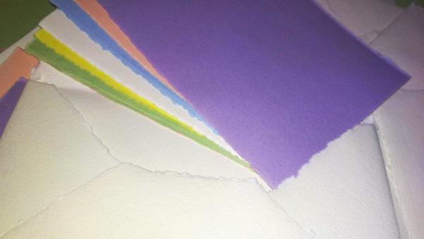 buste e cartoline carta fabriano a mano